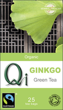 Qi Green Tea with Ginkgo