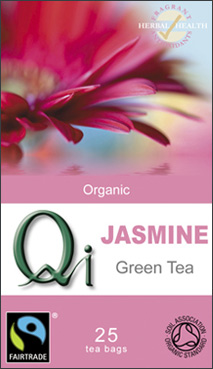 Qi Jasmine Green Tea